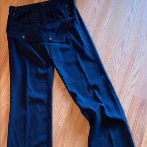 Navy blue Banna Republic pants.